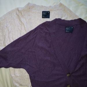 2 American Eagle Outfitters sweaters